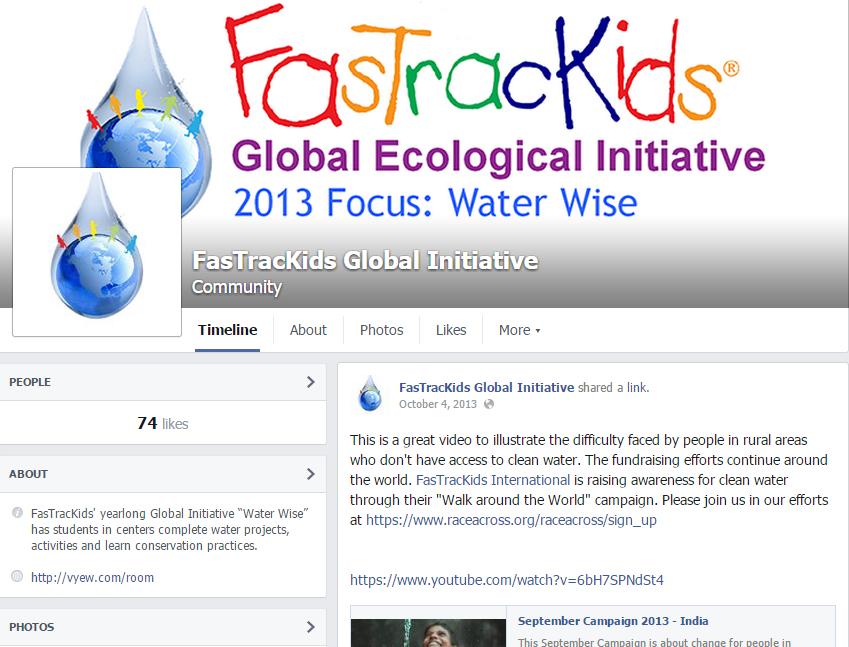 Global Initiative Facebook Screen Shot